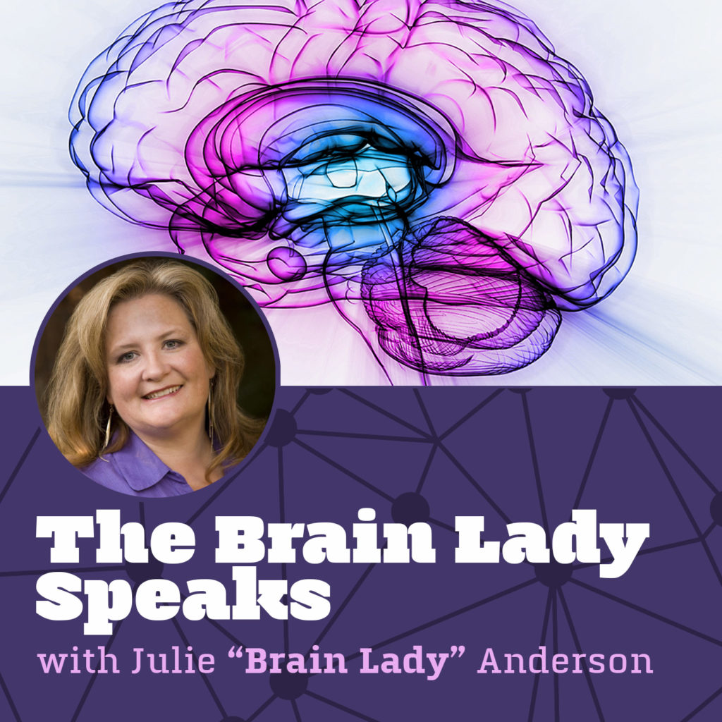 The Brain Lady Speaks Radio Show with Guest Nancy Solari